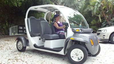 Golf Cart Available