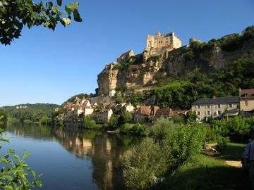 Beynac Castle overlooking the Dordogne River