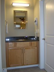 Pacific Beach condo photo - Sink and door to walk-in closet in Master Bedroom