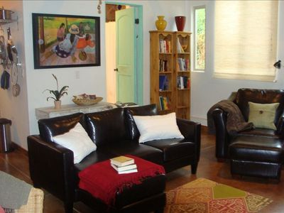 cozy up to a great book or movie Casita II