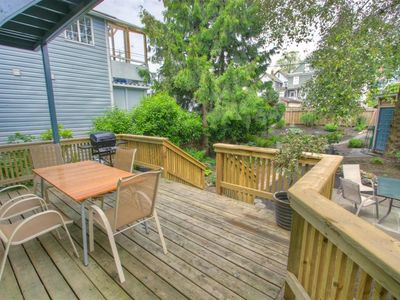 Spacious Back Deck