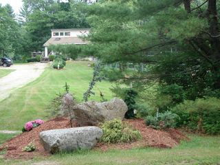 North Conway house photo - Huge yard, plenty of parking and room to play