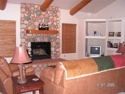 Family Room with Fireplace, Wireless Internet , Flat screen TV,DVD