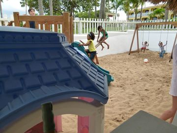 The playground at Kids' Club
