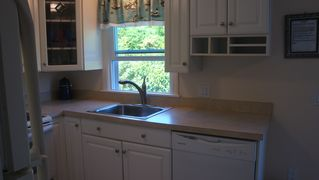 Sand Hill Cove house photo - Updated kitchen includes new dishwasher;