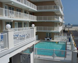 Wildwood Crest condo photo - Oceanview pool
