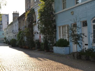 Knightsbridge apartment rental - Ennismore Mews leading to museums