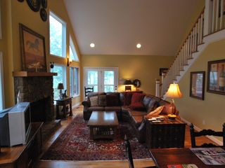 Wintergreen house photo - Great room