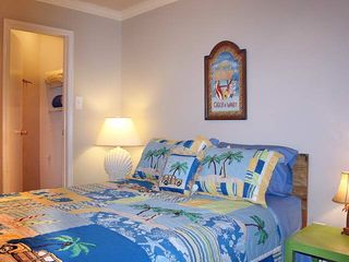 Galveston condo photo - Queen bed in the master bedroom.