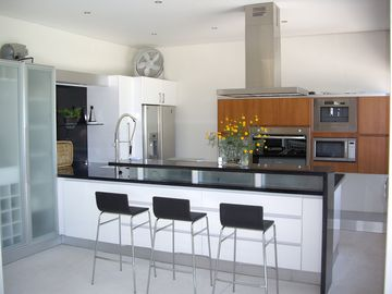 Modern and complete equipped kitchen