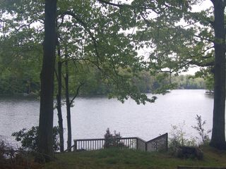 Copake house photo - This is the view from the dining room
