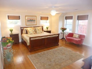 Boston house photo - BR #1-Master suite; king memory-foam bed; adjoining master bath & walk-in closet