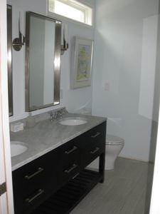 Bath attached to Bedroom 1