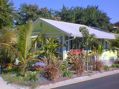 12 year old front picture-when tropical plantings were installed