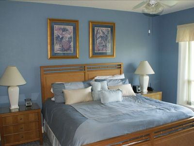 A  Master Suite features a private bath & walk-in closet.  Great view of ocean.
