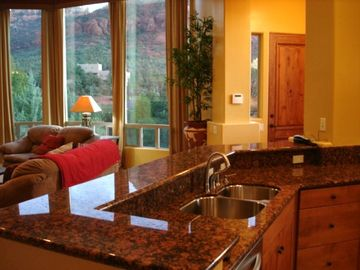 Solid Granite Gourmet Kitchen