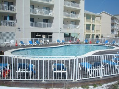 Orange Beach condo rental - EAST POOL and DECK