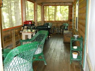 Green Lake cabin photo - Screened-in-porch