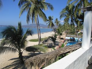Bucerias villa photo - View from Master Bedroom balcony