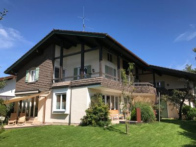 Modern villa centrally located between Chiemsee and Alps, 5-star certified (DTV)