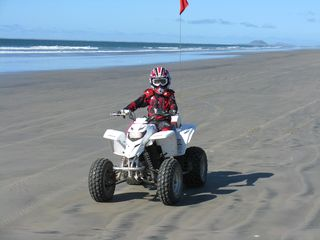San Quintin house photo - We ride quads. This part of the beach is to the north from the entrance.