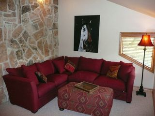 Deer Valley townhome photo - Loft with Full Sleeper