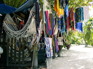 Shopping in West End near the villa - Roatan villa vacation rental photo