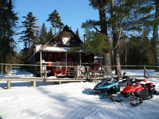 Tomhegan cabin photo - Awesome Snowmobiling, Close to ITS.