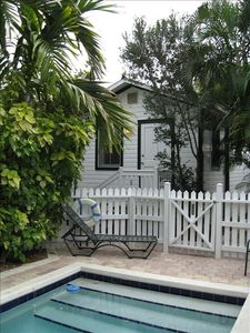 one bedroom cottage with compound pool