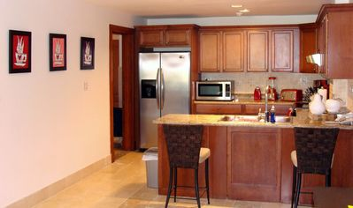 Punta Cana condo rental - Kitchen and Laundry Room