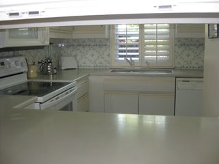 Grand Cayman condo photo - Kitchen has full size fridge and everything you need