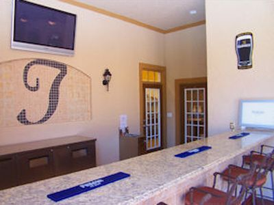 Champions Gate apartment rental - Tuscana Resort Pool side snacks & bar