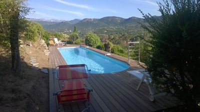 DETACHED VILLA WITH BEAUTIFUL VIEW ON THE SEA AND ON THE MOUNTAINS - Sainte Lucie de Porto Vecchio