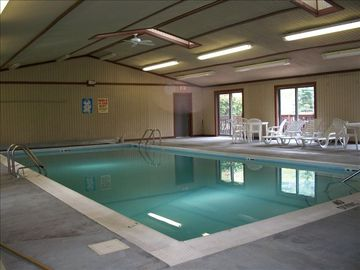 Indoor community pool, open year-round