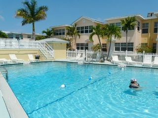 Indian Shores condo photo - Private heated pool