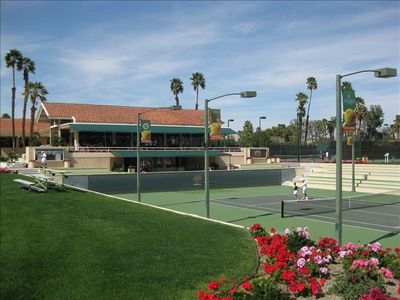 Mission Hills Tennis Club with full spa and health club