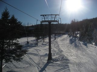 Bretton Woods house photo - Ski lift is just steps from house for ski on/off