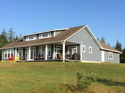 PRIVATE BEACH - new construction, stunning water view, very close to Baddeck!