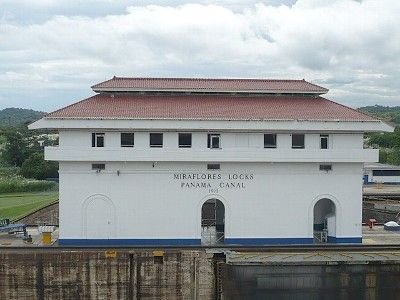 Panama Canal - A quick 60 minute drive down the divided Intra-American highway
