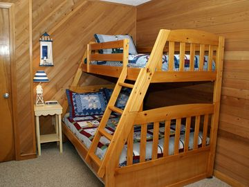 Bunk Bedroom 1 - twin/double w/ twin trundle