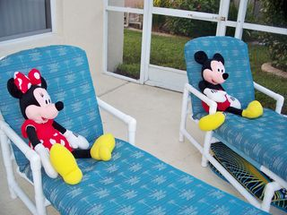 Indian Creek villa photo - Lounging with Mickey and Minnie