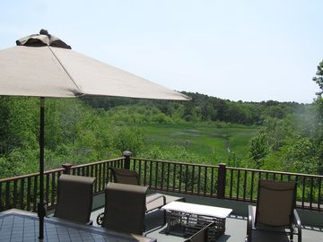 Wellfleet cottage rental - View from the Roof Deck