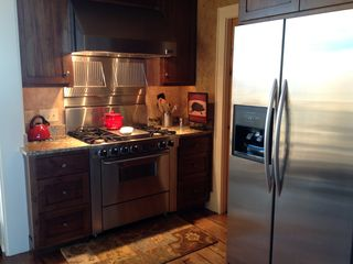 Franklin lodge photo - A very well equipped kitchen includes stainless steel appliances and pantry.