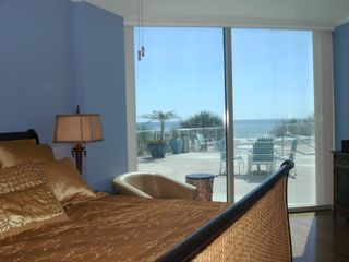 Biloxi condo photo - Extensive waterviews from bedroom.