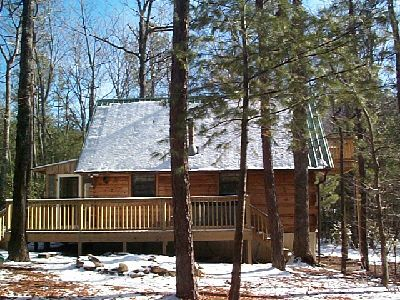 Cupid S Cove Romantic Getaway Log Cabin Vrbo