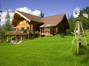 Fairbanks lodge rental - Summer at A Moose in the Garden Vacation Rental