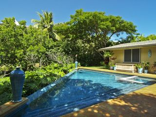 Kailua house photo - Infinity edge saltwater filtered pool
