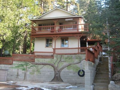 Serenity Nest secluded yet near Lake Gregory with the bird's eye view on things!