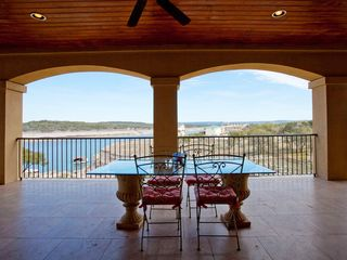 Lago Vista house photo - Breathtaking views from our oversized covered patio