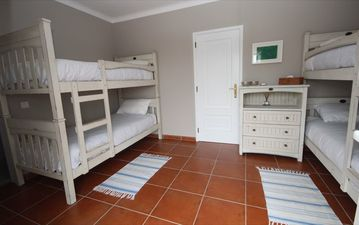 Bedroom 4 with adult size bunks and en-suite